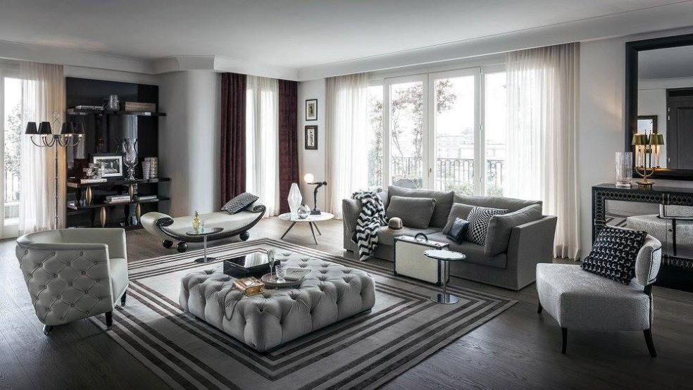 Gianfranco Ferré Home Collection Completes Royal Suite - Perfetto Luxury Interiors